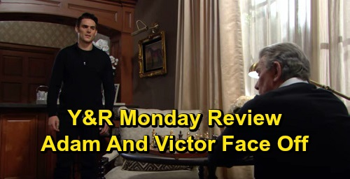 The Young and the Restless Spoilers: Monday, September 30 Review - Victor Sees Adam In A New Light - Chelsea Blasts Nick - Amanda's Shocking Reveal