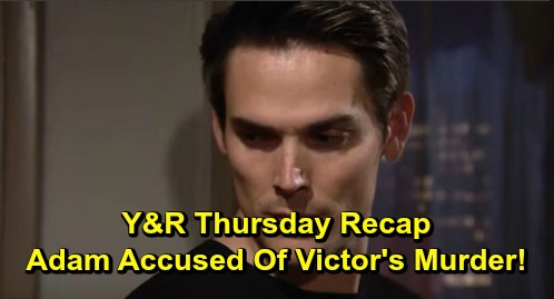 The Young and the Restless Spoilers: Thursday, September 19 Recap – Hilary Lookalike Shocks Devon – Adam Suspected in Victor's Murder