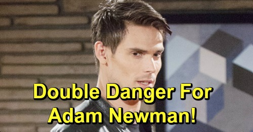 The Young and the Restless Spoilers: Double Danger for Adam – Billy's Gum-Chewing Alter Is Back, Vicious Simon's Out for Blood