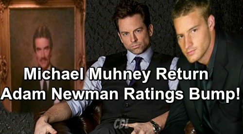 The Young and the Restless Spoilers: Michael Muhney's Return To Y&R as Adam Newman – Biggest Rating Bump In Soap History