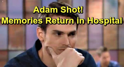The Young and the Restless Spoilers: Adam Newman Rushed to Hospital After Being Shot, Memories Flood Back