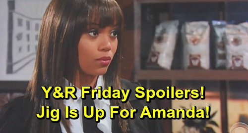 The Young and the Restless Spoilers: Friday, November 8 – Chance Recast Debuts – Devon's Disturbing News, Jig Is Up for Amanda
