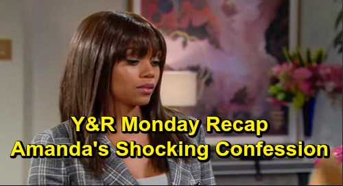 The Young and the Restless Spoilers: Monday, December 16 Recap – Amanda's Orphan Confession – Devon Investigates Dangerous Ex-Fiance