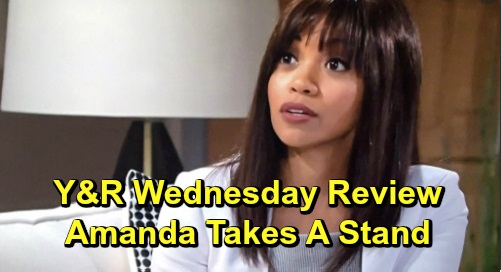 The Young and the Restless Spoilers: Wednesday, February 12 Review - Amanda Tough With Ripley - Rey Calls Out Kyle - Lola Heartbroken