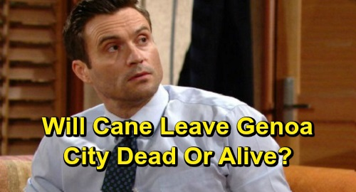 The Young and the Restless Spoilers: Cane Is Dark Billy's Next Target – Will Cane Leave Genoa City Dead or Alive?