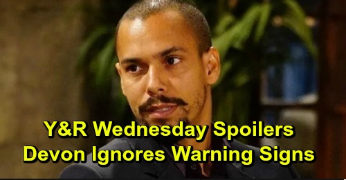 The Young and the Restless Spoilers: Wednesday, December 18 – Devon Ignores Warning Signs, Elena Snoops – Jack Takes Charge at Jabot