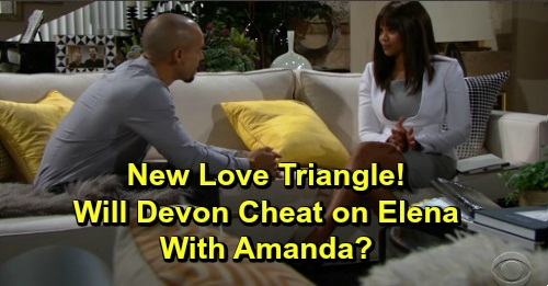 The Young and the Restless Spoilers: Devon's Hot New Love Triangle – Elena or Amanda, Who Are You Rooting For?