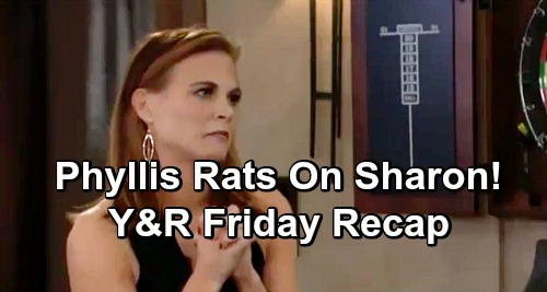 The Young and the Restless Spoilers: Friday, January 25 Update – Phyllis Betrays Sharon – Kyle Suggests Double Wedding