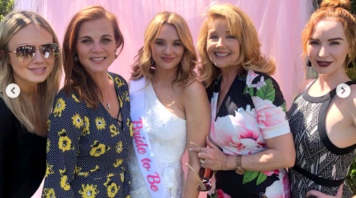 The Young and the Restless Spoilers: Hunter King's Bridal Shower - Y&R Stars Celebrate