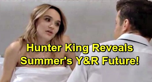 The Young and the Restless Spoilers: Hunter King Reveals Y&R Future - Welcomes Fans' Hatred of Summer