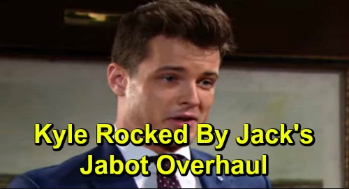 The Young and the Restless Spoilers: Kyle Rocked by Jack's Major Jabot Overhaul – Theo's New Role, Lauren Gets Back in the Action