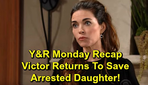 The Young and the Restless Spoilers: Monday, September 23 Recap – Victor Resurfaces After Victoria's Arrest – Adam Gives Connor Bad News