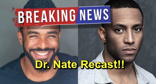 The Young and the Restless Spoilers: Breaking Casting News - Brooks Darnell OUT, Sean Dominic IN as Dr. Nate Hastings