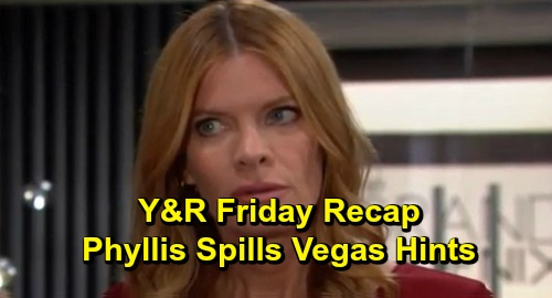 The Young and the Restless Spoilers: Friday, December 13 Recap – Chadam Blowup Leads to Connor's Meltdown – Phyllis Spills Vegas Hints