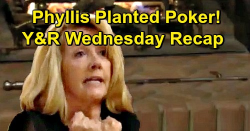 The Young and the Restless Spoilers: Wednesday, January 23 Update – Phyllis Admits She Planted Fireplace Poker