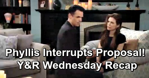 The Young and the Restless Spoilers: Wednesday, April 17 Recap – Jack's Shocking Visitor – Phyllis Derails Billy's Proposal