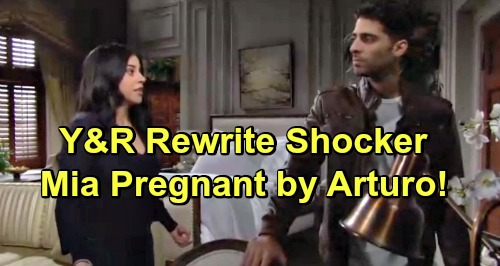 The Young and the Restless Spoilers: Mia Pregnant with Arturo's Baby – Y&R Rewrite Changes the Game for Ruthless Schemer?
