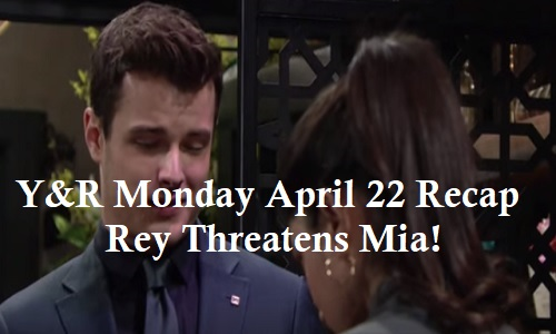 The Young and the Restless Spoilers: Monday, April 22 Recap – Nick Spots Kyle Kissing Lola, Demands Annulment – Rey Threatens Mia