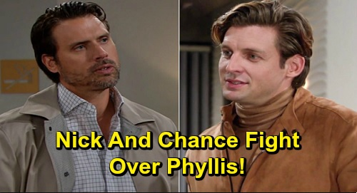 The Young and the Restless Spoilers: Nick and Chance Battle for Phyllis – New Rivalry Heats Up Once Chelsea's Back with Adam?