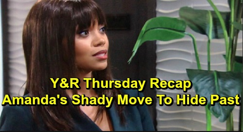 The Young and the Restless Spoilers: Thursday, December 12 Recap – Amanda Hired Company to Erase Her Past – Kyle's Co-CEO Demand Pays Off