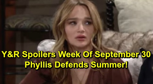 The Young and the Restless Spoilers: Week of September 30 – Cane Faces Accusations – Chelsea's Fury Erupts – Phyllis Defends Summer