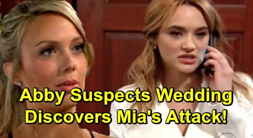 The Young and the Restless Spoilers: Abby Seeks the Truth About Summer's Wedding - Discovers Mia's Secret Attack On Lola