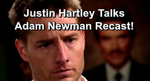 The Young and the Restless Spoilers: Justin Hartley Weighs In On New Adam Newman Recast