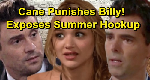 The Young and the Restless Spoilers: Cane Plays The Summer Card For Revenge – Bigmouth Billy's Horrible Public Humiliation