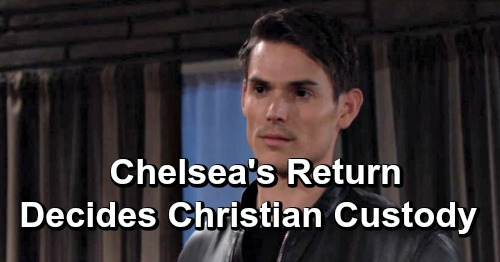 The Young and the Restless Spoilers: Chelsea's Return Decides Adam and Nick's Christian Custody Battle - With Surprising Outcome