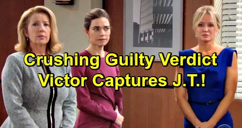 The Young and the Restless Spoilers: Guilty Verdict Brings Tears and Fears – Victor Saves Coverup Crew, Captures J.T. Alive
