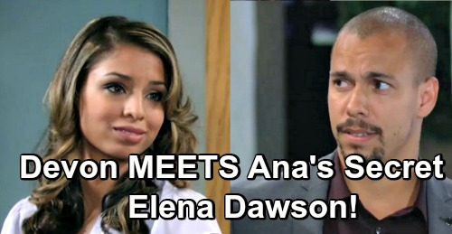 The Young and the Restless Spoilers: Devon Discovers Ana's Big Secret – Mysterious Elena Dawson Shocking Connection Revealed
