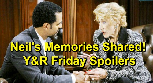 The Young and the Restless Spoilers: Friday, April 26 – Neil Memories Shared at Heartfelt Reception – Y&R Caps Off Powerful Week