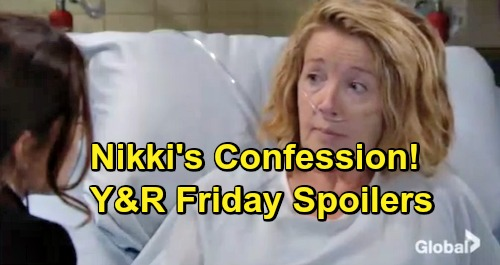 The Young and the Restless Spoilers: Friday, January 4 – Victoria Decides Villy Future – Nikki's Brave Choice – Cane's Big Shocker