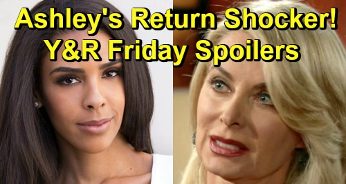 The Young and the Restless Spoilers: Friday, March 29 – Ashley Returns with Shocking Revelations – Kerry Goes Out with a Bang