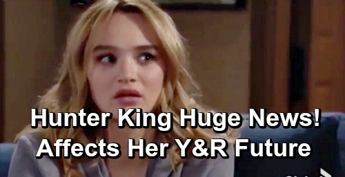 The Young and the Restless Spoilers: Hunter King Summer newman Y&R Future