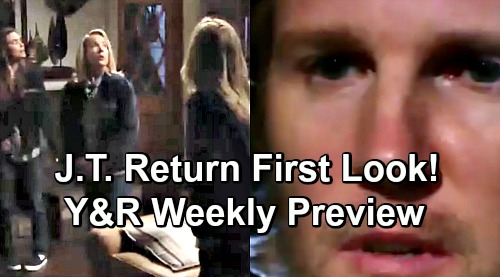 The Young and the Restless Spoilers: Weekly Preview March 18-22 – First Look at J.T.'s Return – Monster's Final Revenge