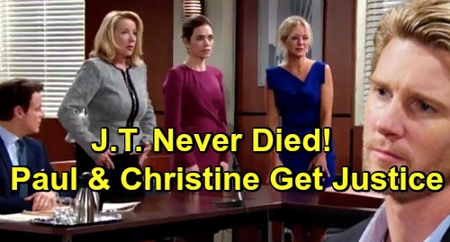 The Young and the Restless Spoilers: Christine and Paul Track Down J.T. Hellstrom - Find Justice For The Newmans?