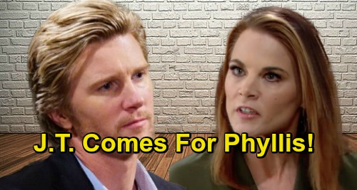 The Young and the Restless Spoilers: Alive J.T. Wants Phyllis to Pay Like the Others – Rat Fights Back in Deadly Twist?