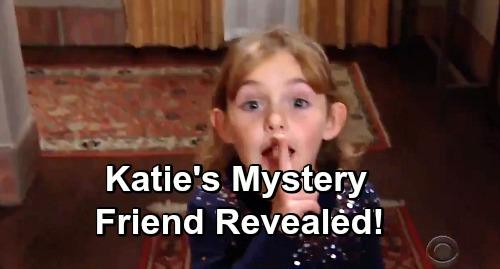 The Young and the Restless Spoilers: Katie Abbott's Unseen Friend Revealed - Newman's Forced To Protect Family Again