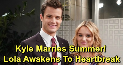 The Young and the Restless Spoilers: Summer and Kyle's Rushed Wedding – Lola Wakes Up to Heartbreaking Bombshell