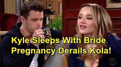 The Young and the Restless Spoilers: Kyle Caves In, Sleeps with New Bride Summer – Pregnancy Shocker Derails Kola Reunion?