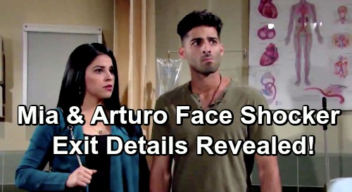 The Young and the Restless Spoilers: Mia and Arturo's Exit Details Revealed – Paul's Decision Brings Rosales Family Shocker