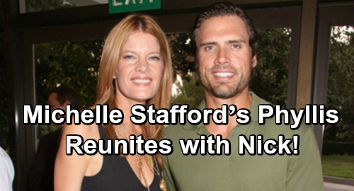 The Young and the Restless Spoilers: Nick and Michelle Stafford's Phyllis Become Genoa City 'Phick' Power Couple