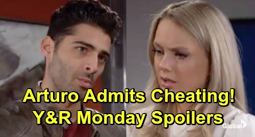 The Young and the Restless Spoilers: Monday, March 25 - Arturo Admits Cheating – Kyle Confesses To Lola – Summer's Health Crisis