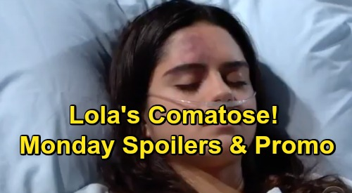 The Young and the Restless Spoilers: Monday, February 18 Recap – Lola Comatose, Mia Horrified – Phyllis Betrays Everyone