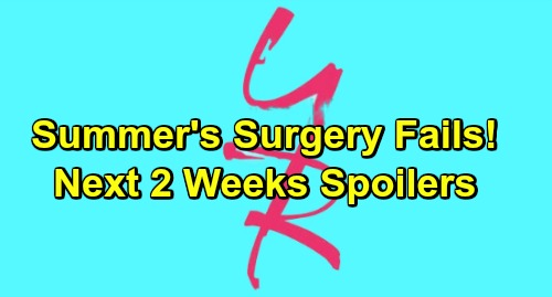 The Young and the Restless Spoilers: Summer's Surgery Failure - Paul's Back with J.T. Bombshell – Ashley's Stunning Visit