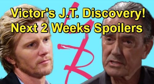 The Young and the Restless Spoilers Next 2 Weeks: Victor's Startling J.T. Discovery – Billy Wants Victoria