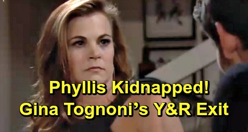 The Young and the Restless Spoilers: Phyllis Kidnapped by Mystery Intruder – Sets Up Gina Tognoni's Y&R Exit