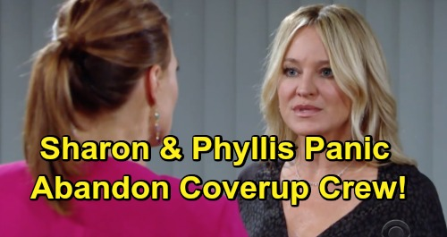 The Young and the Restless Spoilers: Phyllis and Sharon Fear Victor Will Frame Them for J.T.'s Murder – Coverup Crew Fractured