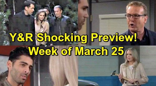 The Young and the Restless Spoilers: Week of March 25 Preview – Desperate Cabin Rescue – Paul Fires Rey - Betrayed Abby Gets Violent